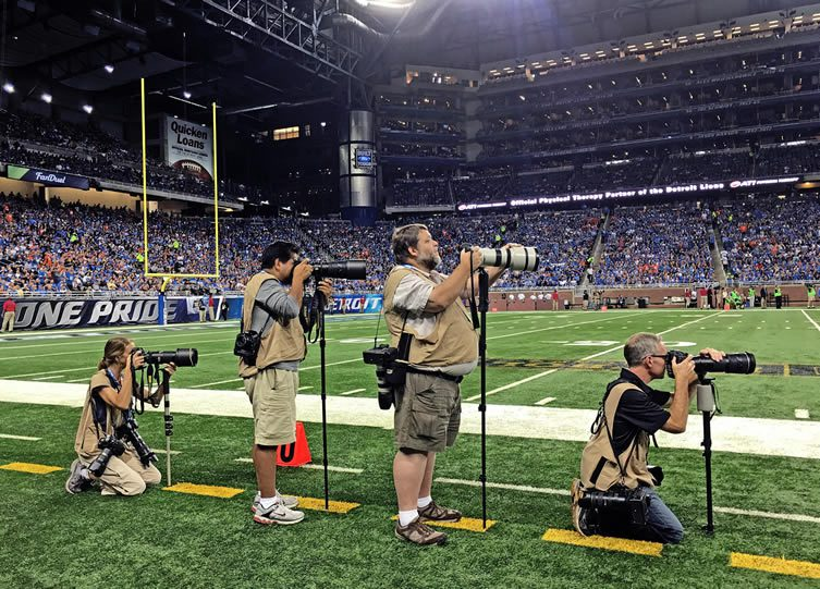 Andrew Webber Shoots NFL Game on iPhone 6S