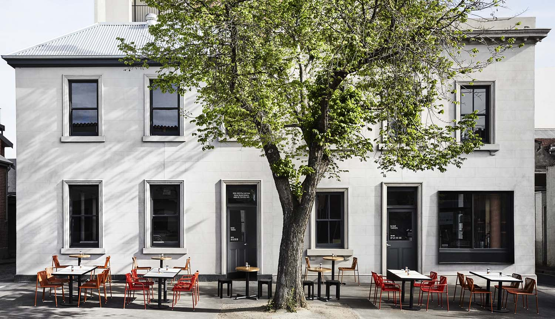 Nine Yards South Melbourne Café Designed by studio Golden