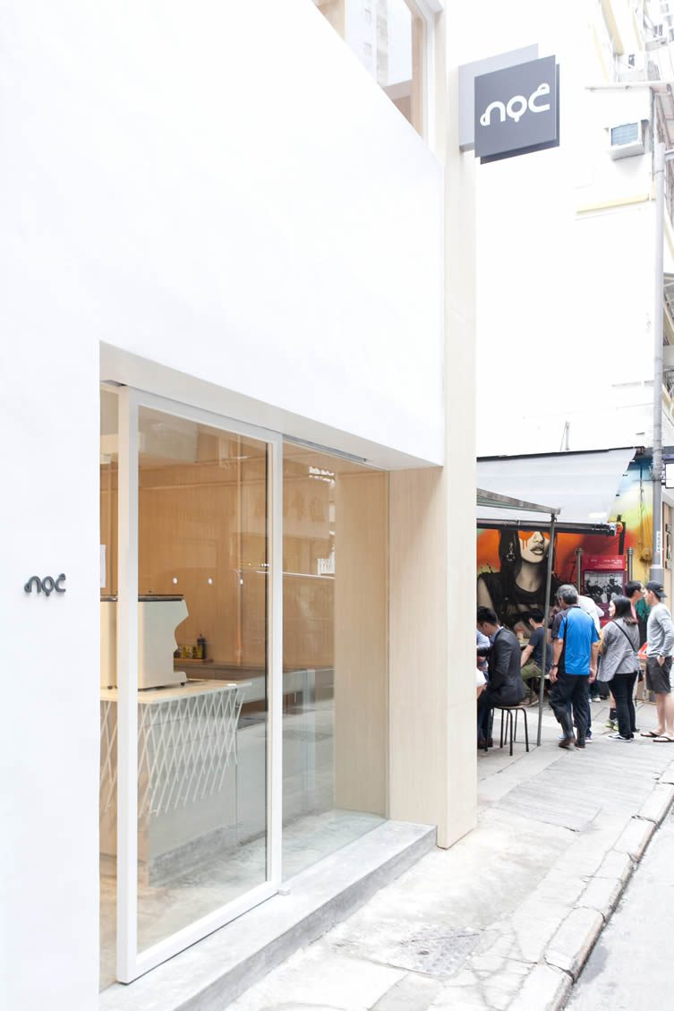 NOC Coffee Co Hong Kong by Studio Adjective, Gough Street Café
