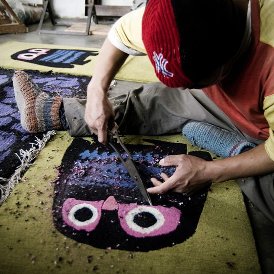 Weaving Magic With Node Rugs
