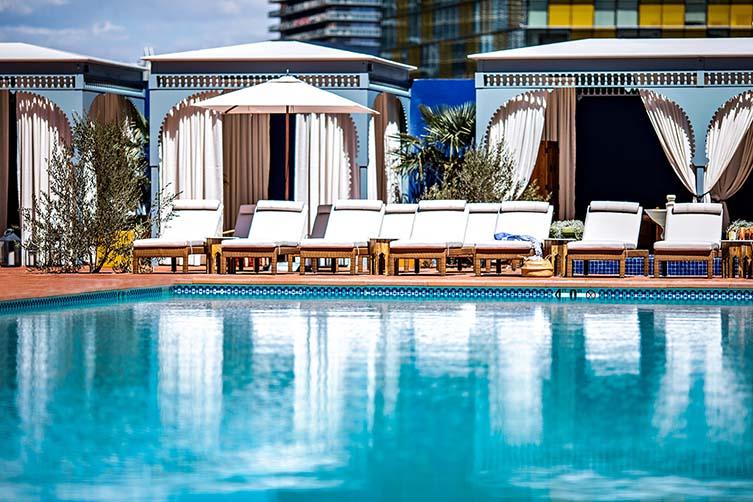 NoMad Las Vegas, Sydell Group Design Hotel at Park MGM inc. Daniel Humm Restaurant Las Vegas