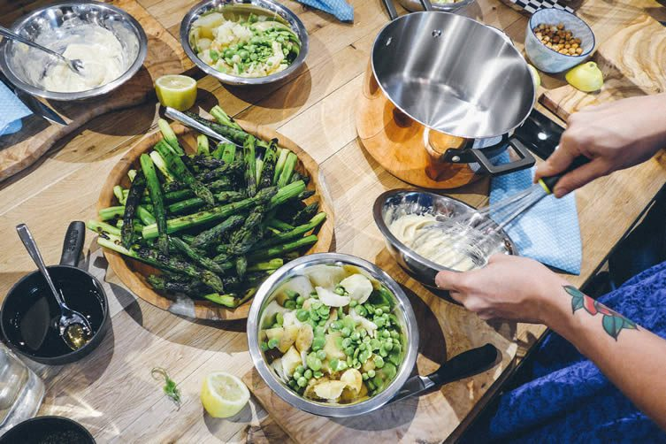 Summer Cookery Workshop with Jun Tanaka at West Elm, London