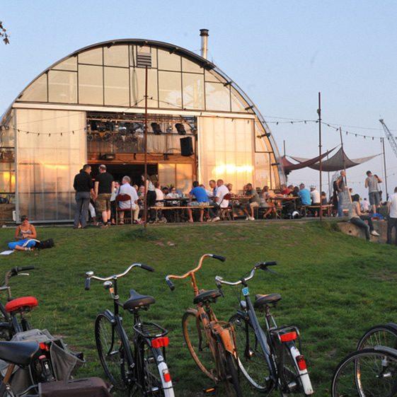 Amsterdam café commune is cultural melting pot