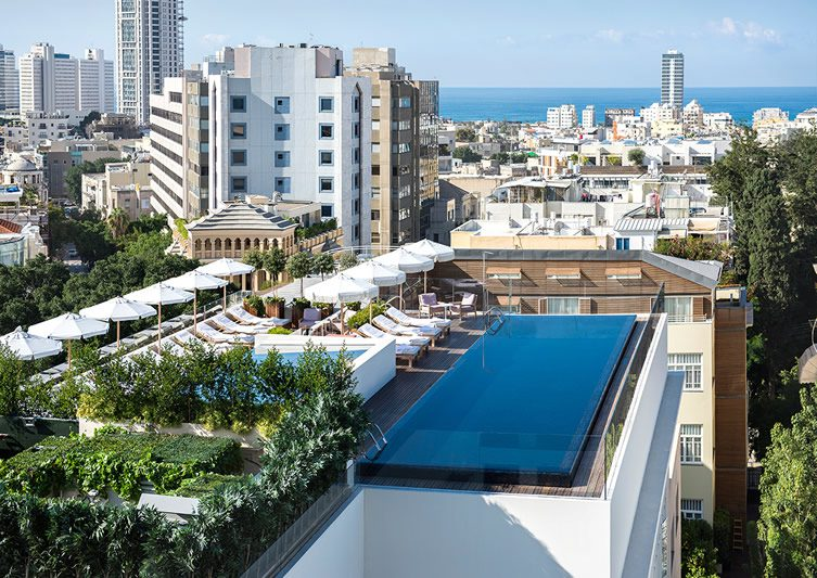 The norman tel aviv for Design hotel tel aviv