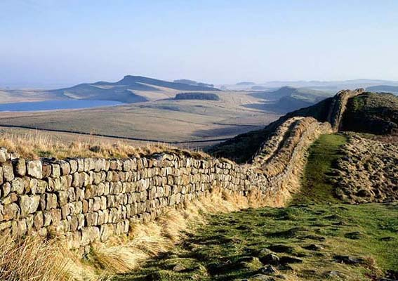 Hadrian's iconic wall