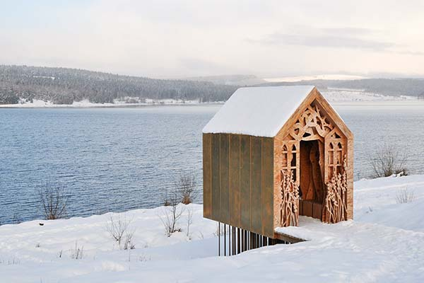 Freya's Cabin by Studio Weave at the Kielder Water and Forest Park