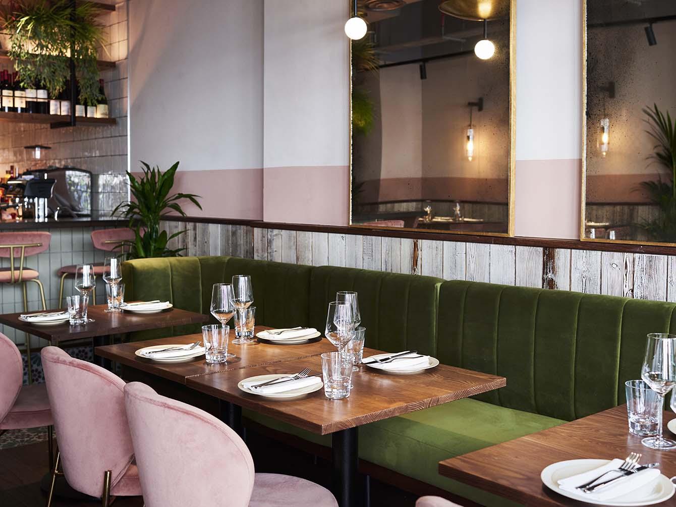 Nutshell Covent Garden, London, St. Martin's Lane Iranian Restaurant