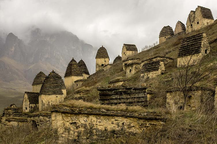 City of the Dead, Ossetia, Russia
