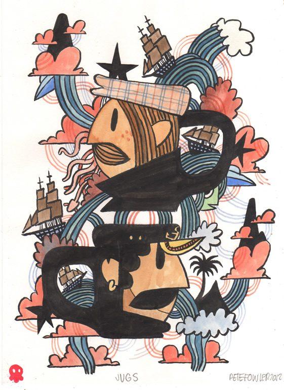 Pete Fowler's Oceans of Fantasy