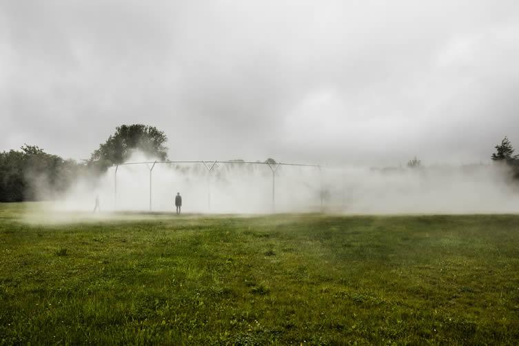 Olafur Eliasson, Fog Assembly