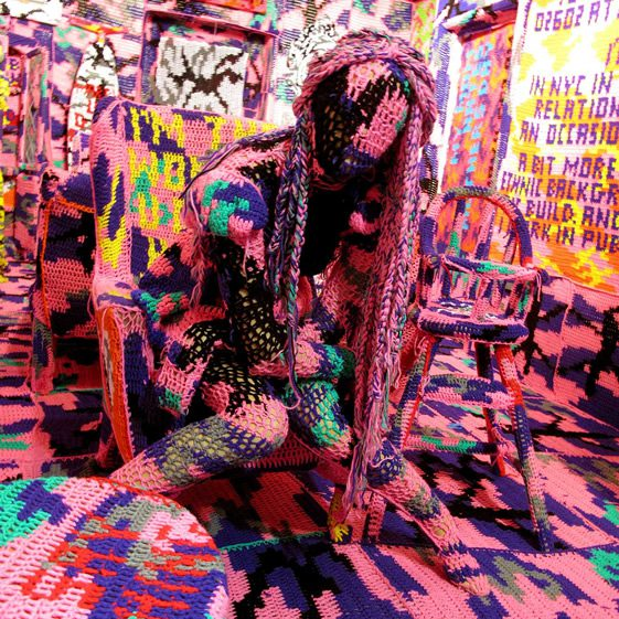 Olek at Tony's Gallery
