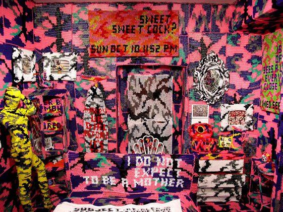 Olek at Tony's Gallery