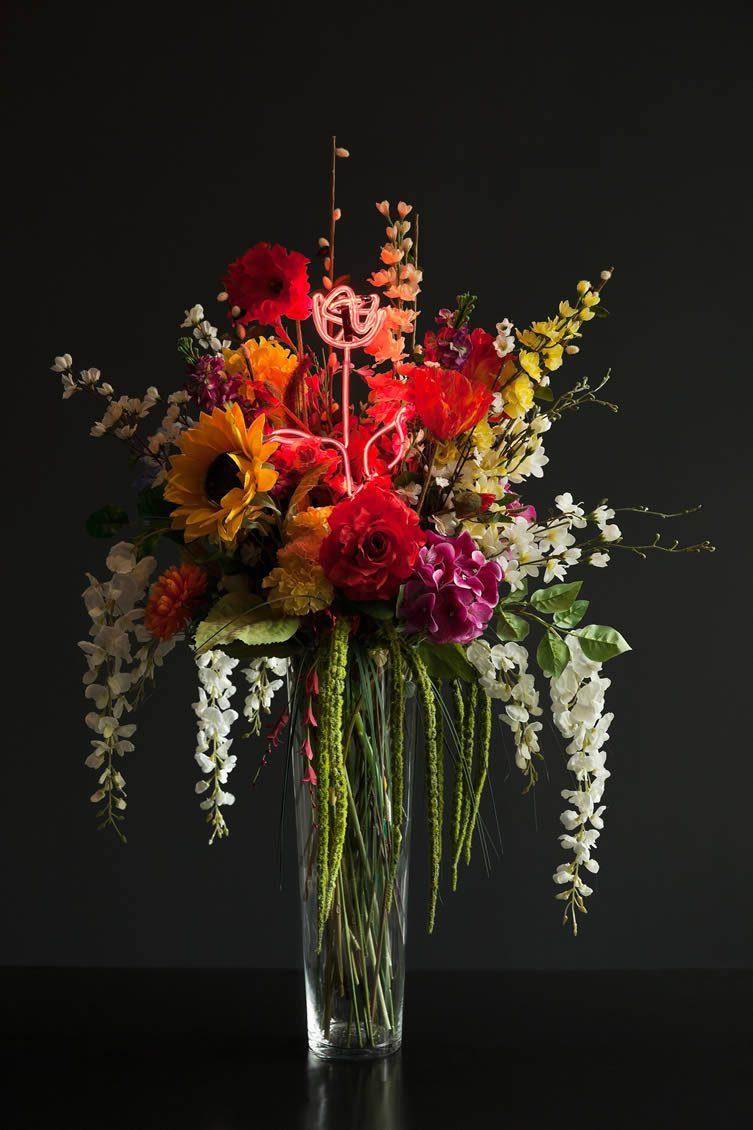 Olivia Steele, Faux Flowers