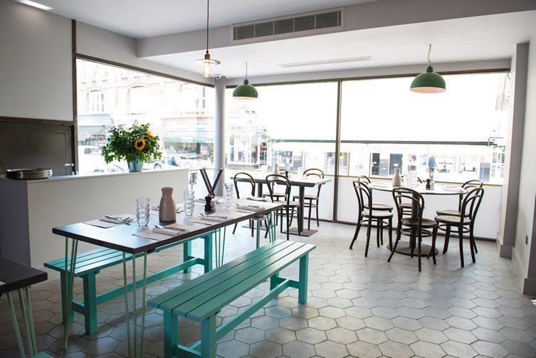 Olympic Café & Dining Room at Olympic Studios — London