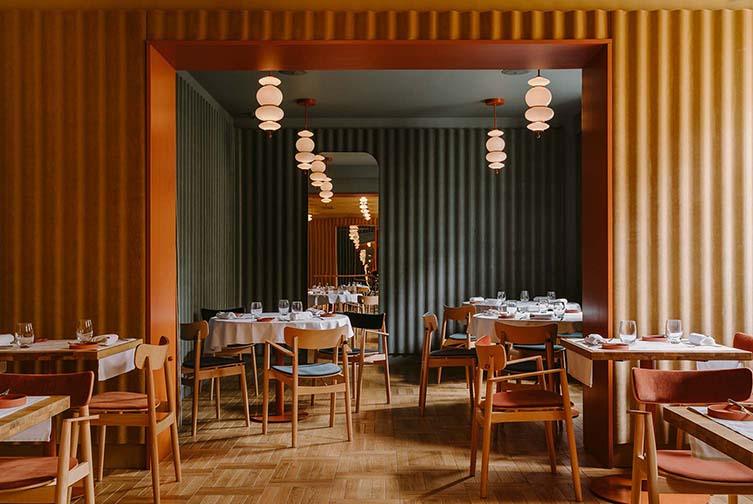 Opasly Tom Restaurant, Warsaw Designed by BUCK.STUDIO