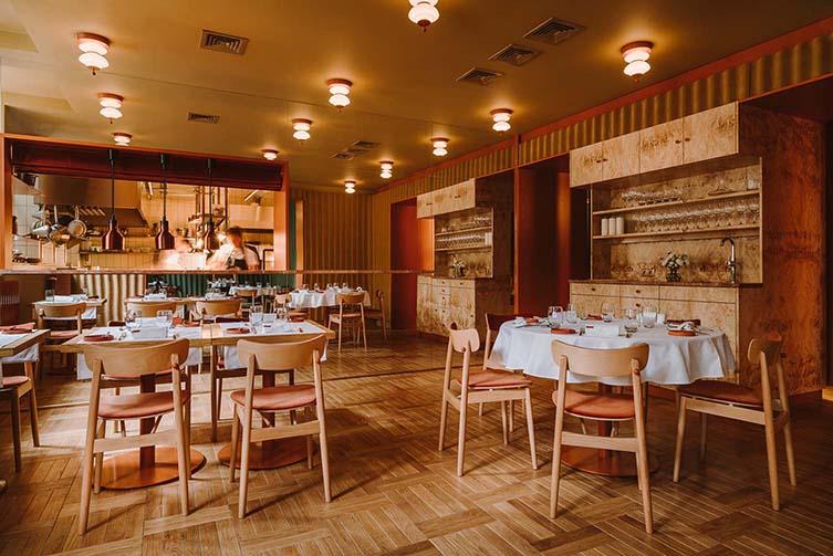 Opasly Tom Restaurant, Warsaw Designed by BUCK.STUDIO