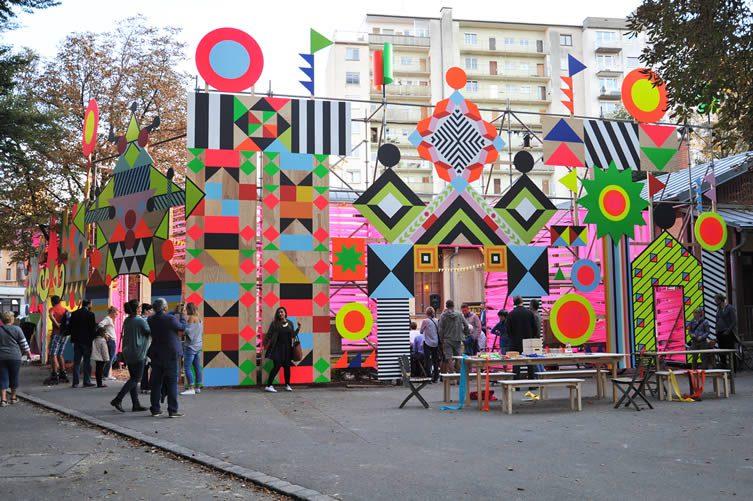 Open Wide — Arrival Zone & Markers, Opheum & Volksgarten-Pavillion