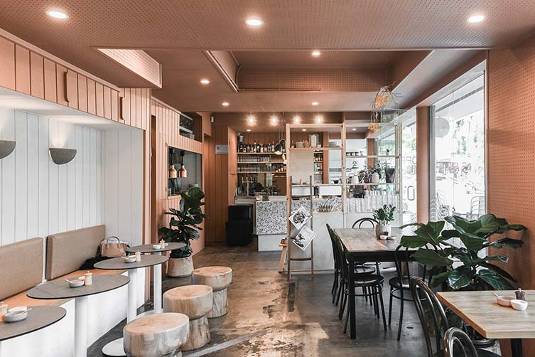 ÖPPEN Melbourne, Oppen All Day Windsor Café Designed by BRANDWORKS