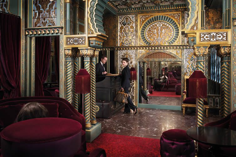 Opulence revival the hotels embracing the new opulence trend - Maison et deco paris ...