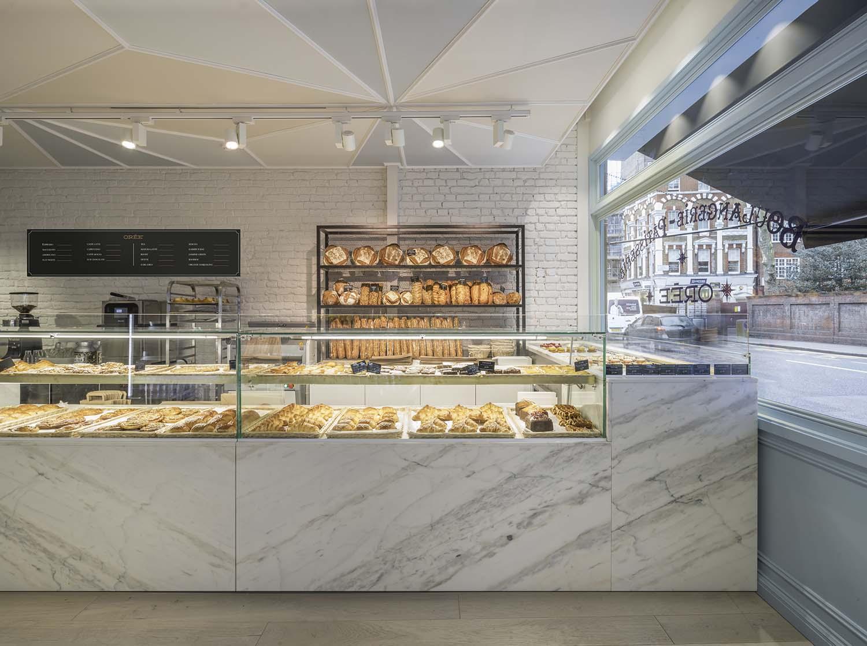 Orée Battersea Patisserie, London, Northcote Road Café Designed by SHED