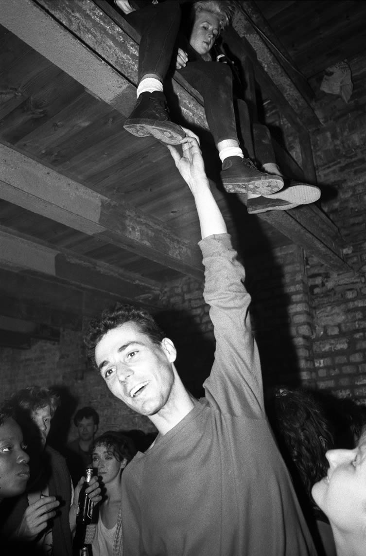 Old Street Warehouse Rave, London, 1985