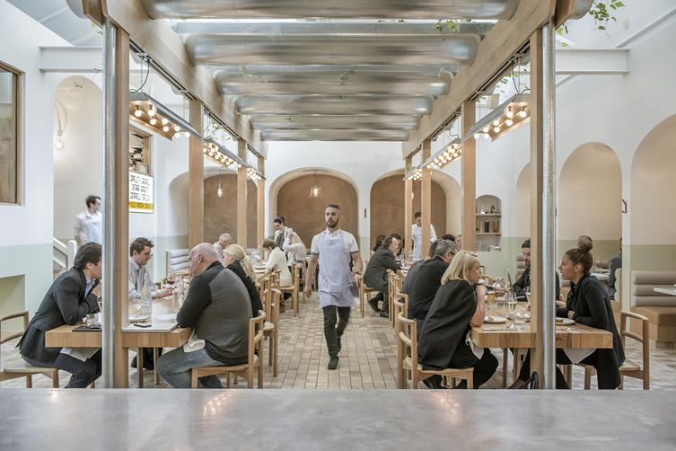 Osteria Oggi Adelaide, Simon Kardachi Restaurant Designed by studio-gram