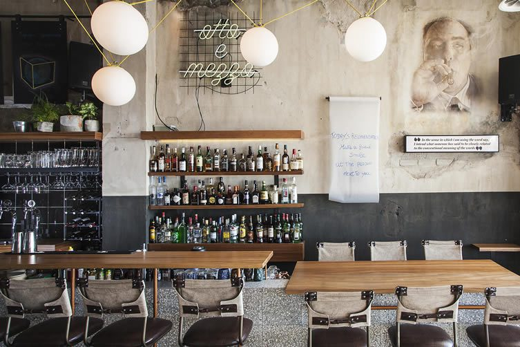 Otto e Mezzo Thessaloniki: Bar and Restaurant