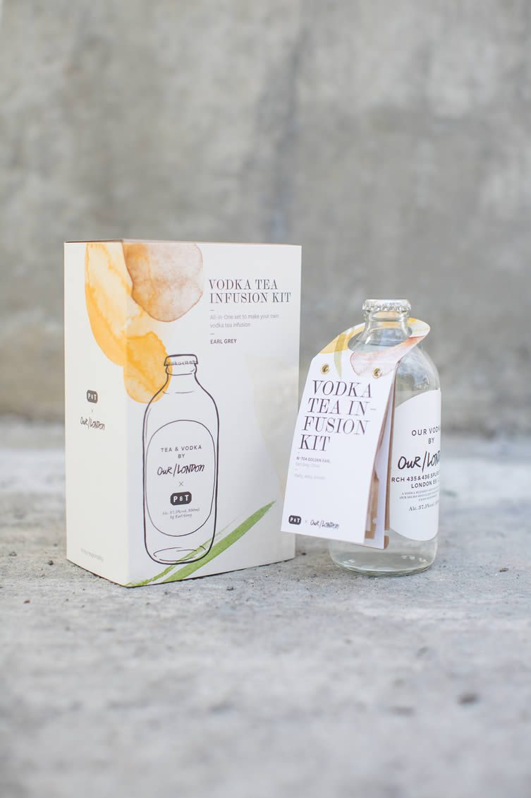 Our/London x Paper & Tea, Vodka Tea Infusion Kits