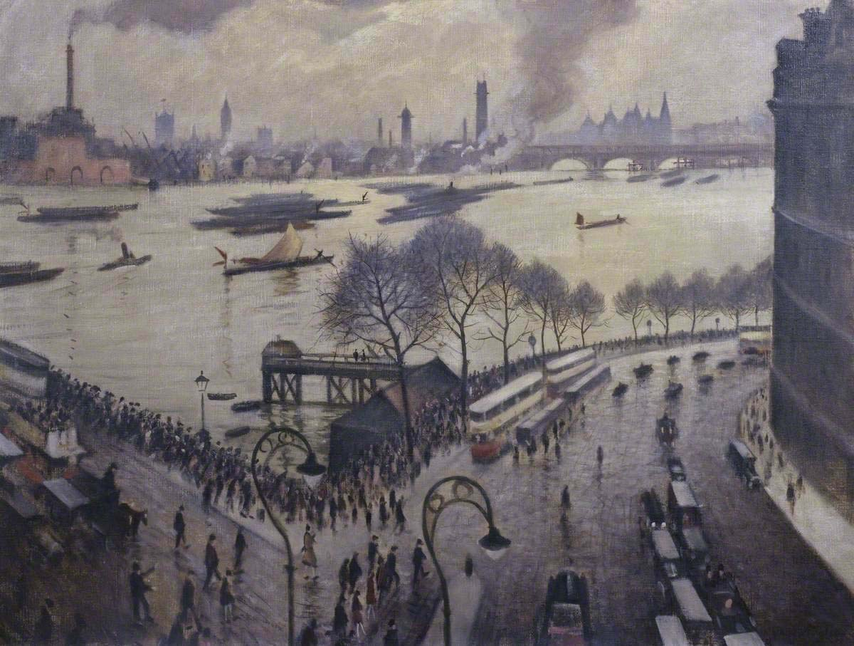 150 Years of Painting the Thames