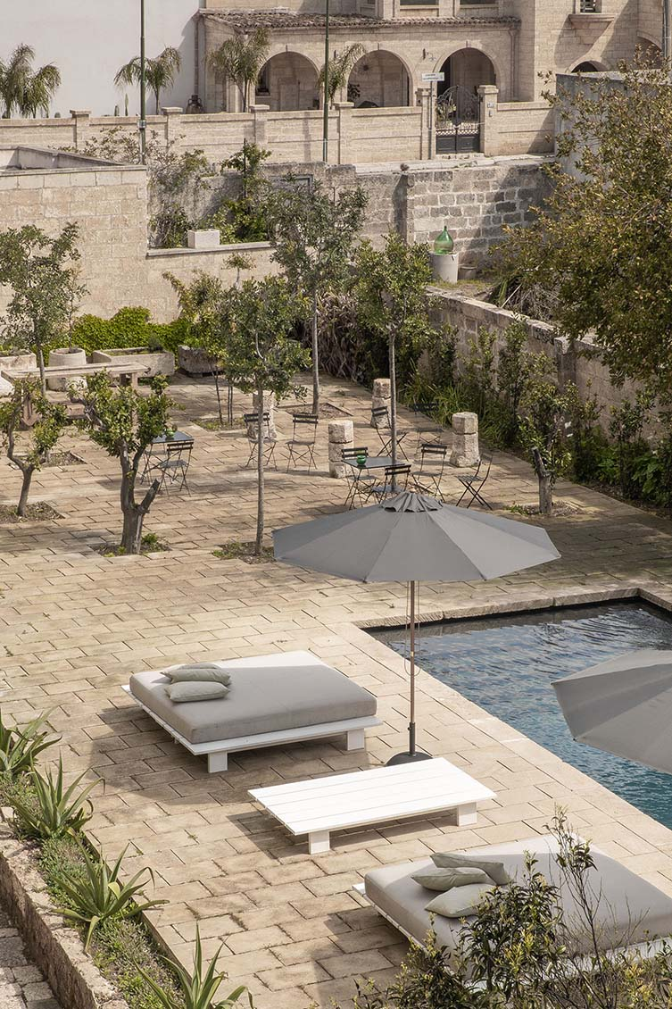 Fusing modern minimalism with its decadent past, design hotel Palazzo Daniele brings artful elegance and hyper-locality to sleepy Puglia...
