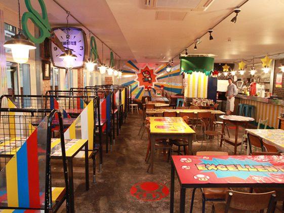 Paper Mario Pop-Up Diner