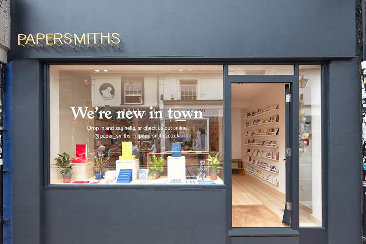 Papersmiths Brighton Stationery Design Shop by Sidonie Warren and Kyle Clarke