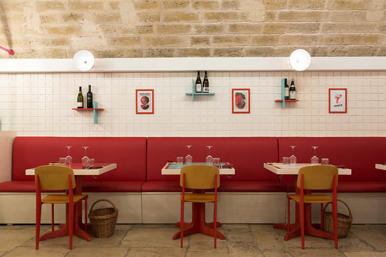 Pappa Bari, Restaurant Designed by SMALL and Diorama, Puglia Italy