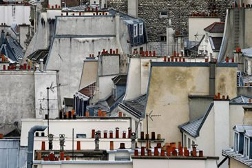 Michael Wolf — Paris Rooftops at M97, Shanghai
