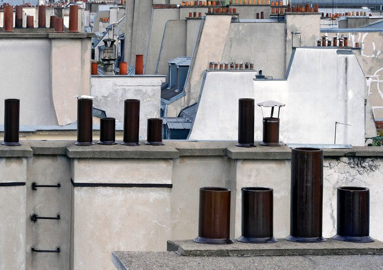 Michael Wolf Paris Rooftops at M97, Shanghai
