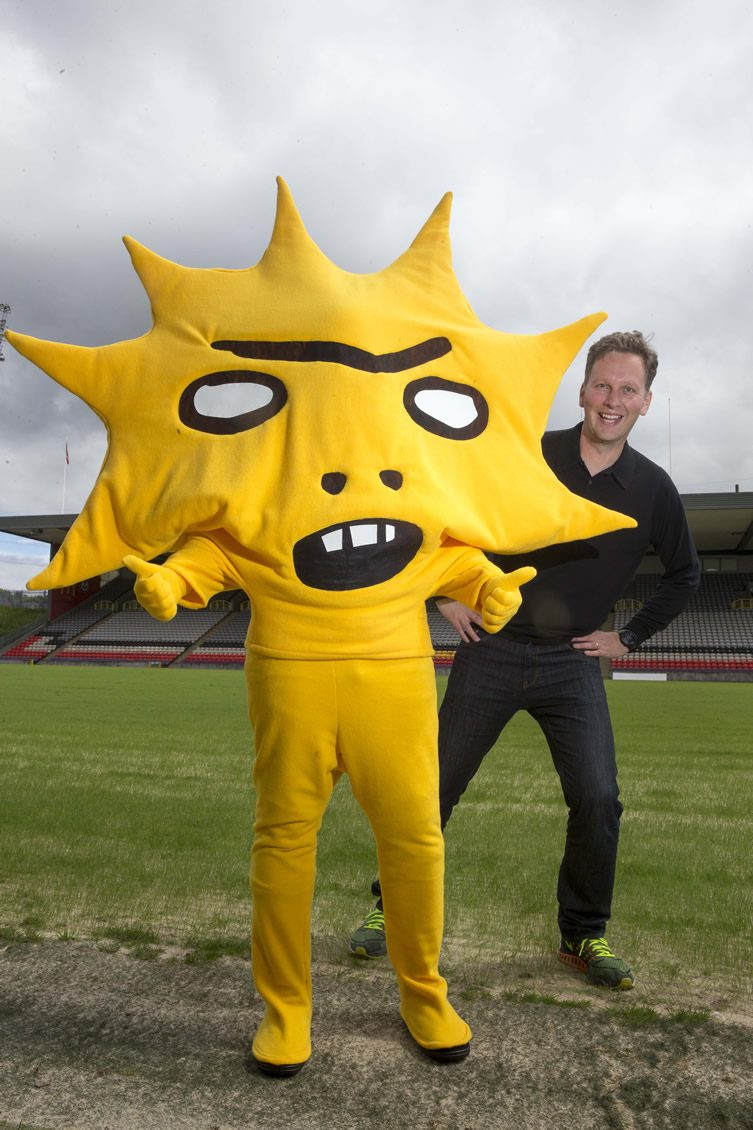 David Shrigley Partick Thistle Mascot