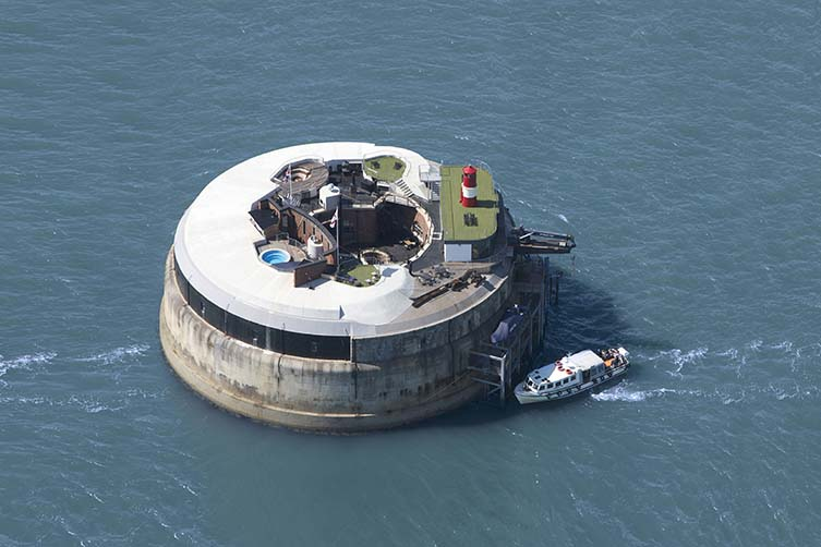 The barmy ball on a perverse private island