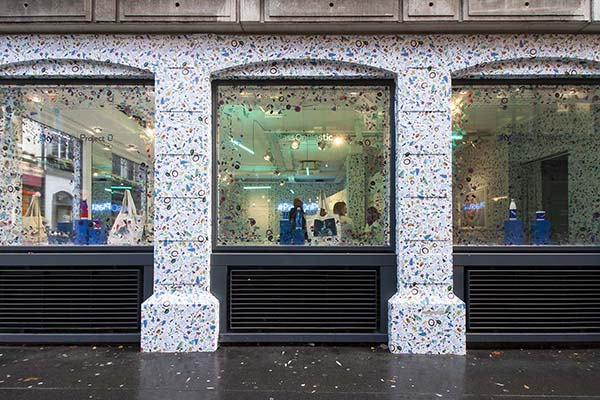 Pass On Plastic Pop-Up Shop London, 20 Beak Street, Designed by Shed