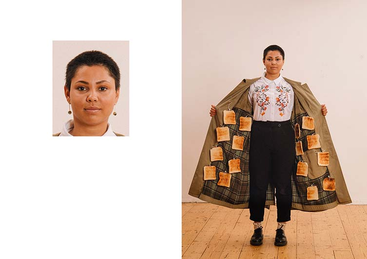 Max Siedentopf, Passport Photos Subversive Photography Satire of Official Rules