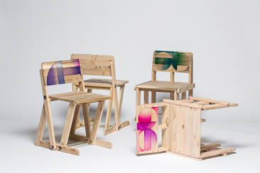 Craft Combine, Patterned Pallet Chair