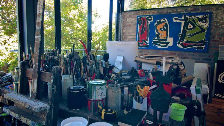 Paul du Toit Studio Visit