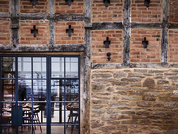 Pensons Netherwood Estate, Herefordshire Restaurant Lee Westcott Designed by Communion Design