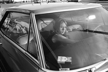 Mike Mandel, People in Cars