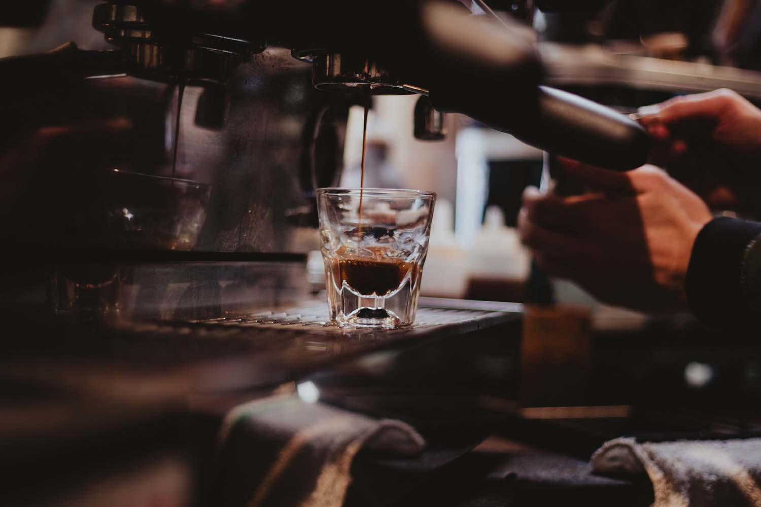 Making the Perfect Shot of Espresso