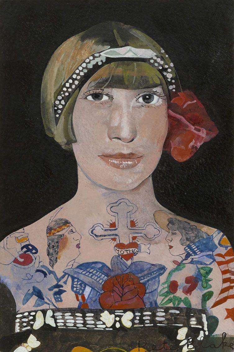 Tattooed Woman 2
