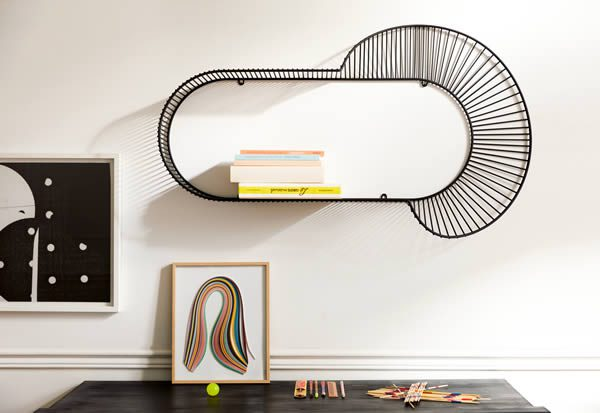 LOOP Shelf by Amandine Chhor, Photo © Ola Rindal