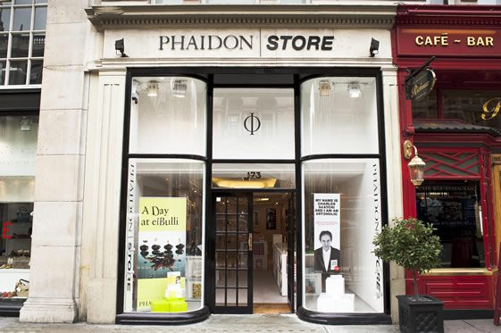 Phaidon Pop-Up Store, Piccadilly