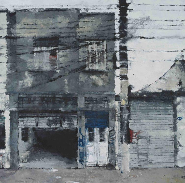 Philippe Cognée — Territoires at Galerie Daniel Templon, Brussels