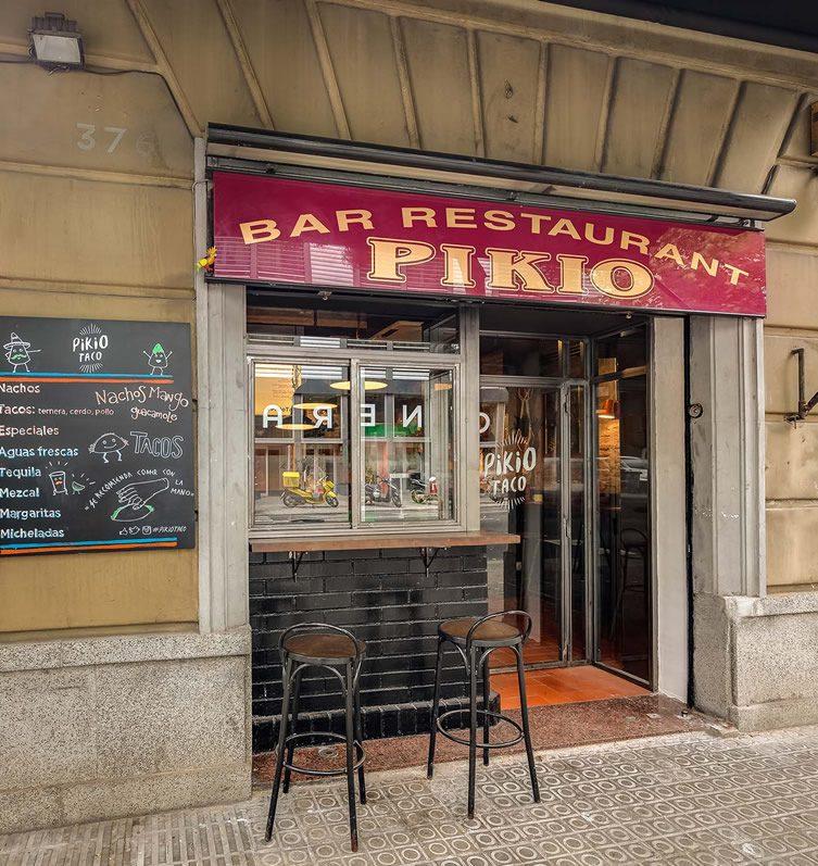 Pikio Taco, Barcelona