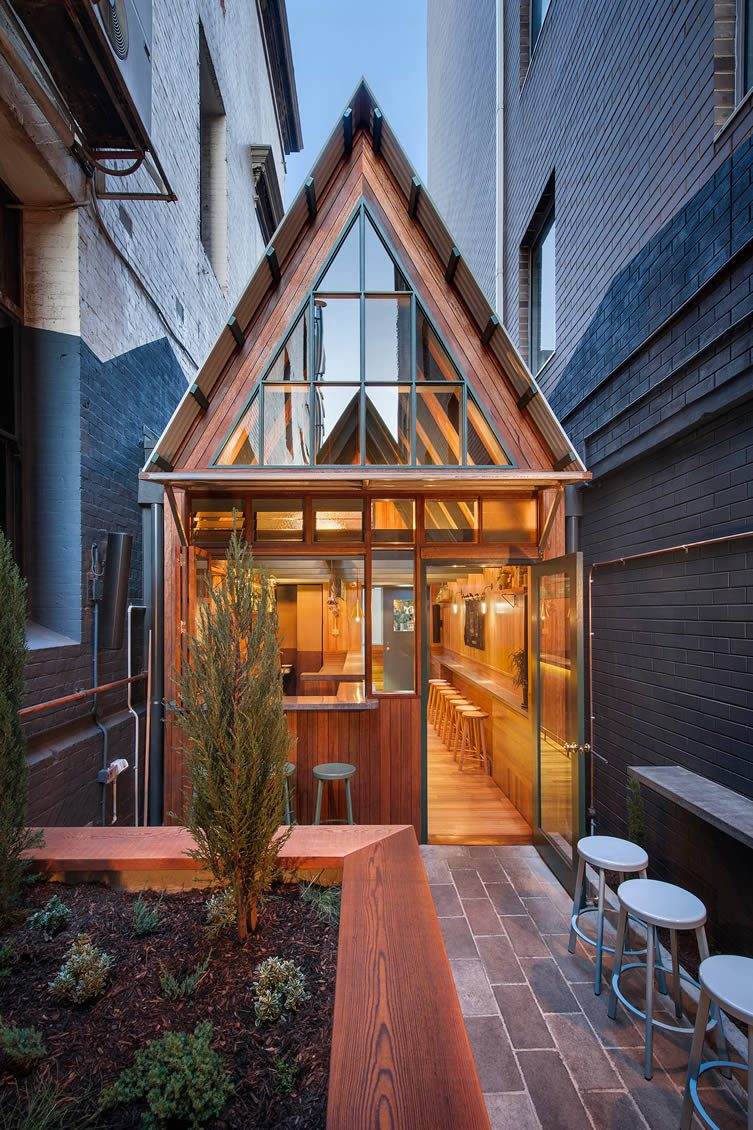 Pink Moon Saloon, Adelaide by Sans-Arc Studio